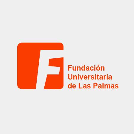 Logotipo fundación universitaria de Las Palmas