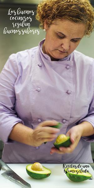 Gloria Rodríguez Chef Islamezclada