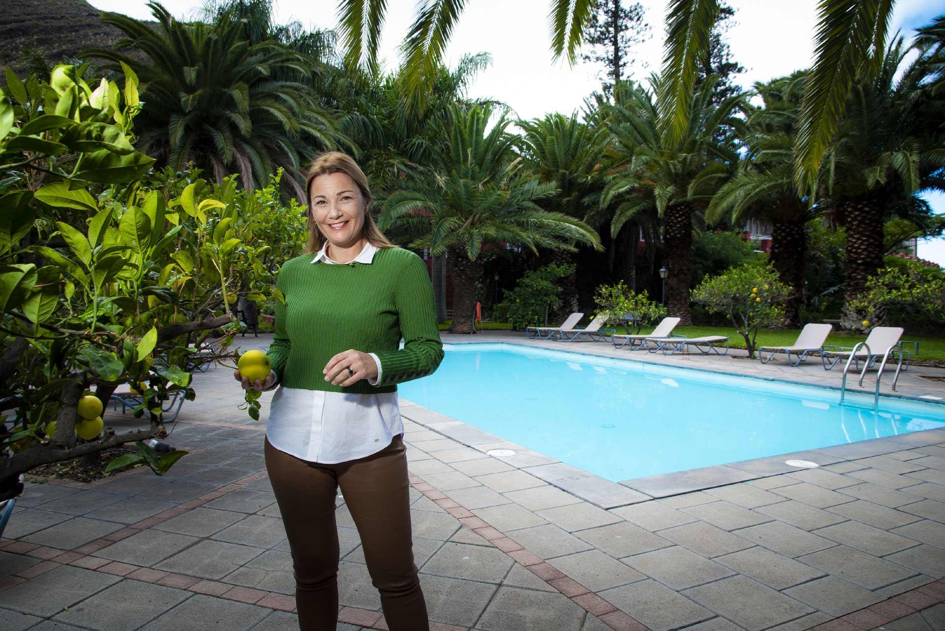 Lourdes Pérez directora de hotel