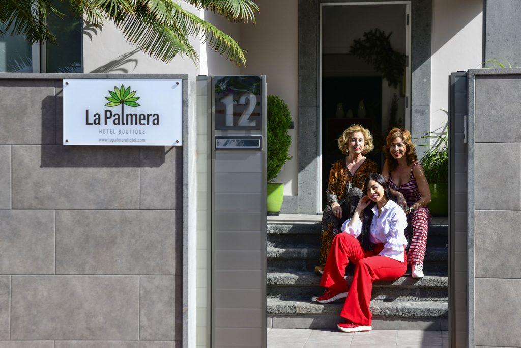 Marisa González, Carmen González y Elena Sánchez