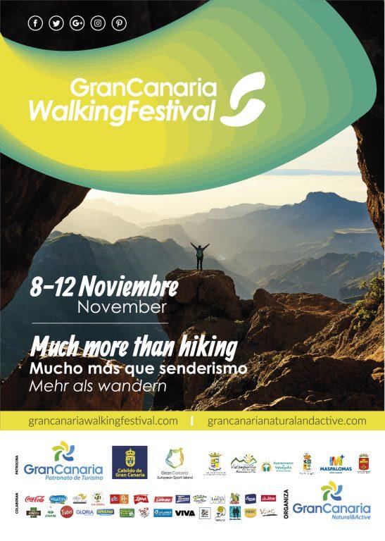 cartel Gran Canaria Walking Festival