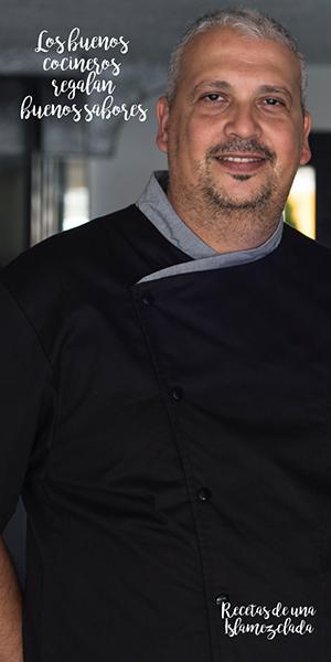 chef Germán Ortega La Aquarela