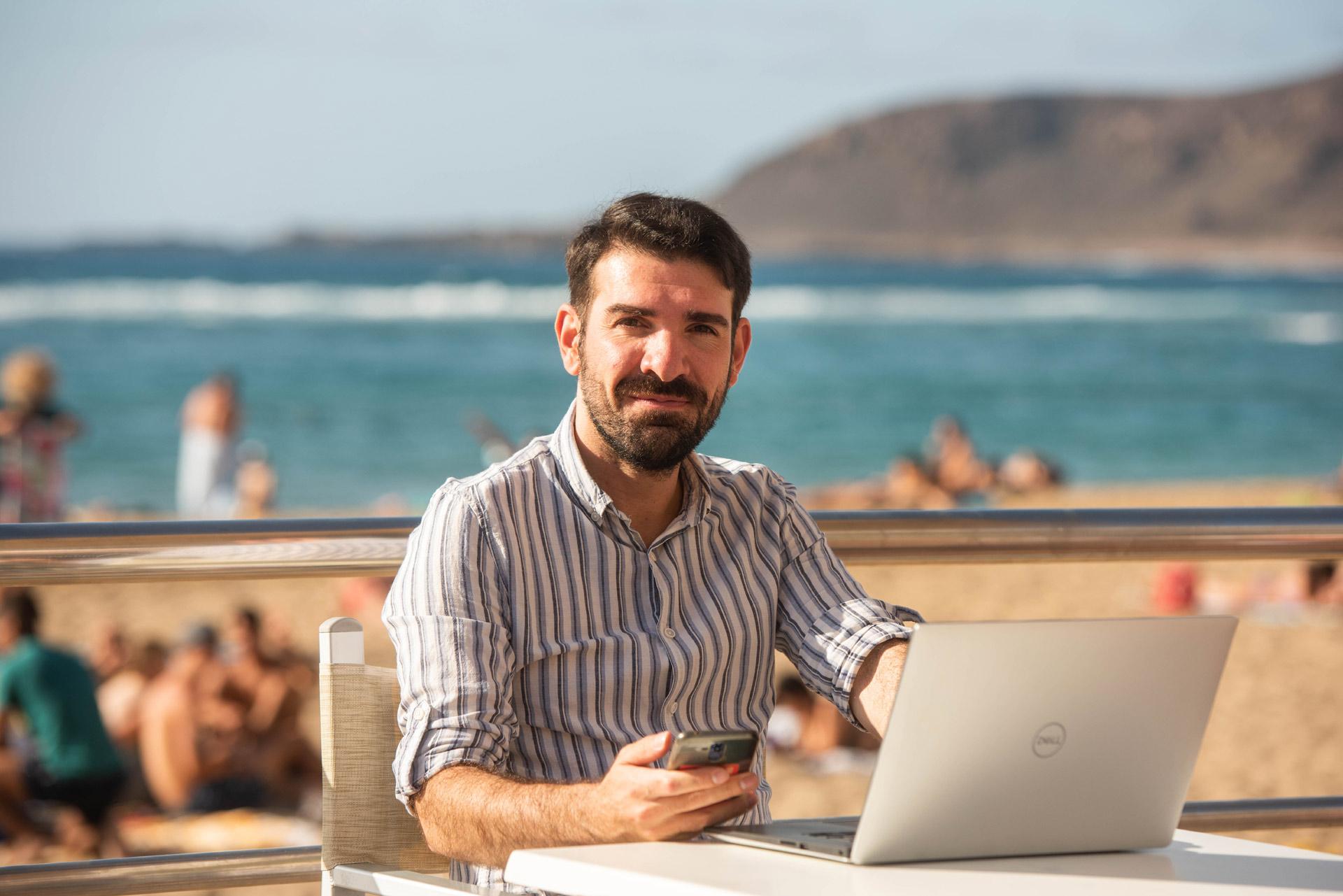 Víctor Gómez, emprendedor digital